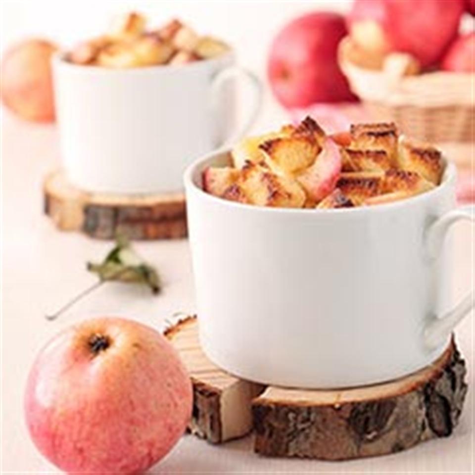 Applesauce Bread Pudding