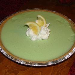 No Bake Lemon-Lime Chiffon Pie