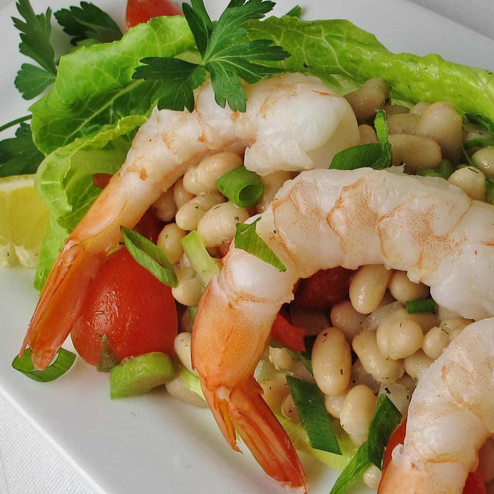 Shrimp and White Bean Salad naples34102