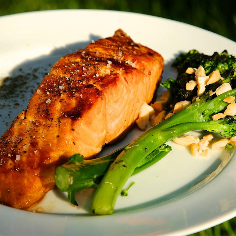 Sweet Glazed Salmon