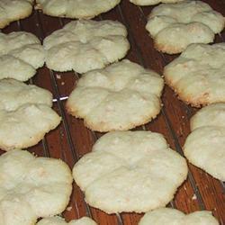 Swedish Ground Almond Spritz Cookies sueb