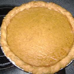 Sugarless Pumpkin Pie II Stephany