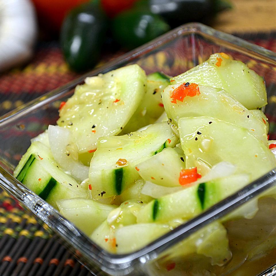 Cucumber Salad With Thai Sweet Chili Vinaigrette *Sherri*