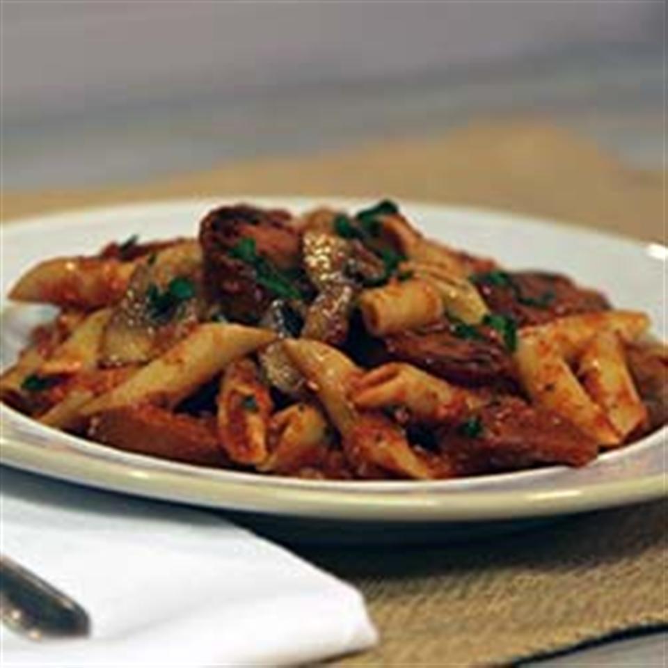 Smoked Sausage & Mushroom Pasta Marinara Trusted Brands