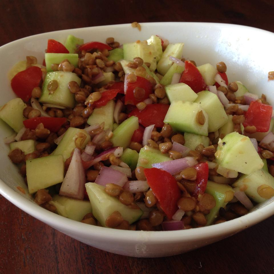 Lentil Salad with a Persian Twist mighty_b