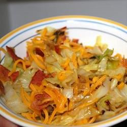 DeeAnn's Cheesy Bacon Cabbage belle