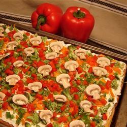 Cool Veggie Pizza Rebecca