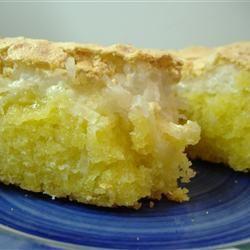 Coconut Meringue Cake Carol
