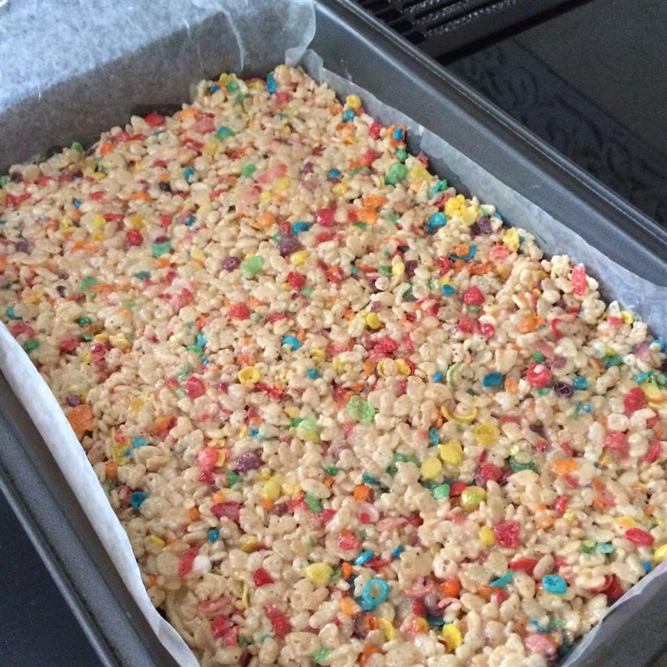 Funfetti® Cake Batter Rice Krispies® Treats