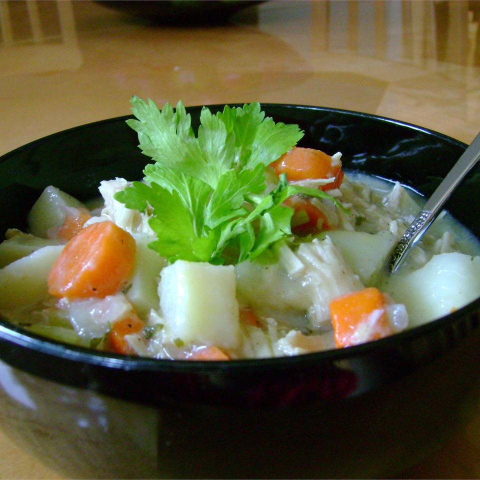 Hearty Turkey Stew with Vegetables Janiele Arong