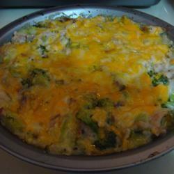 Veggie Chicken Rice Casserole Lauren