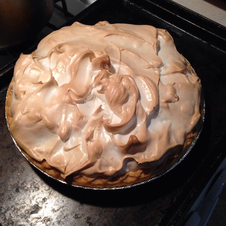 Mom's Chocolate Meringue Pie