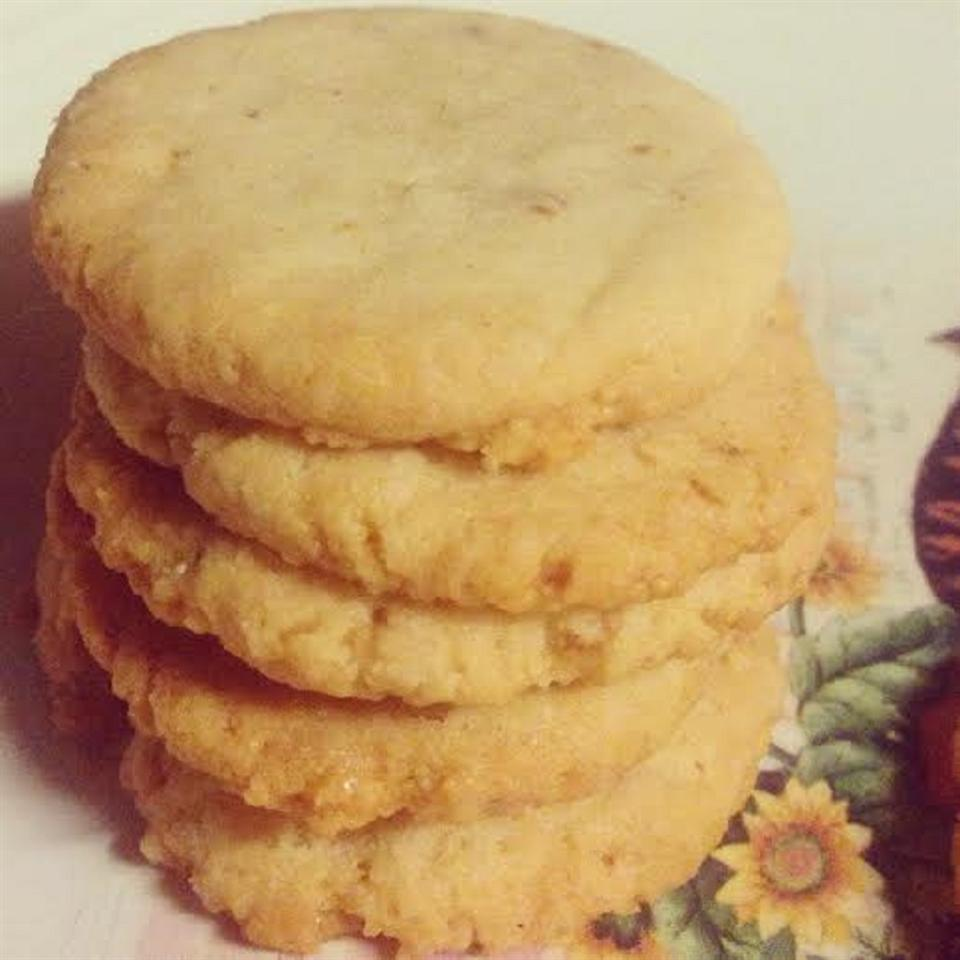 Low-Carb Almond Shortbread Cookies