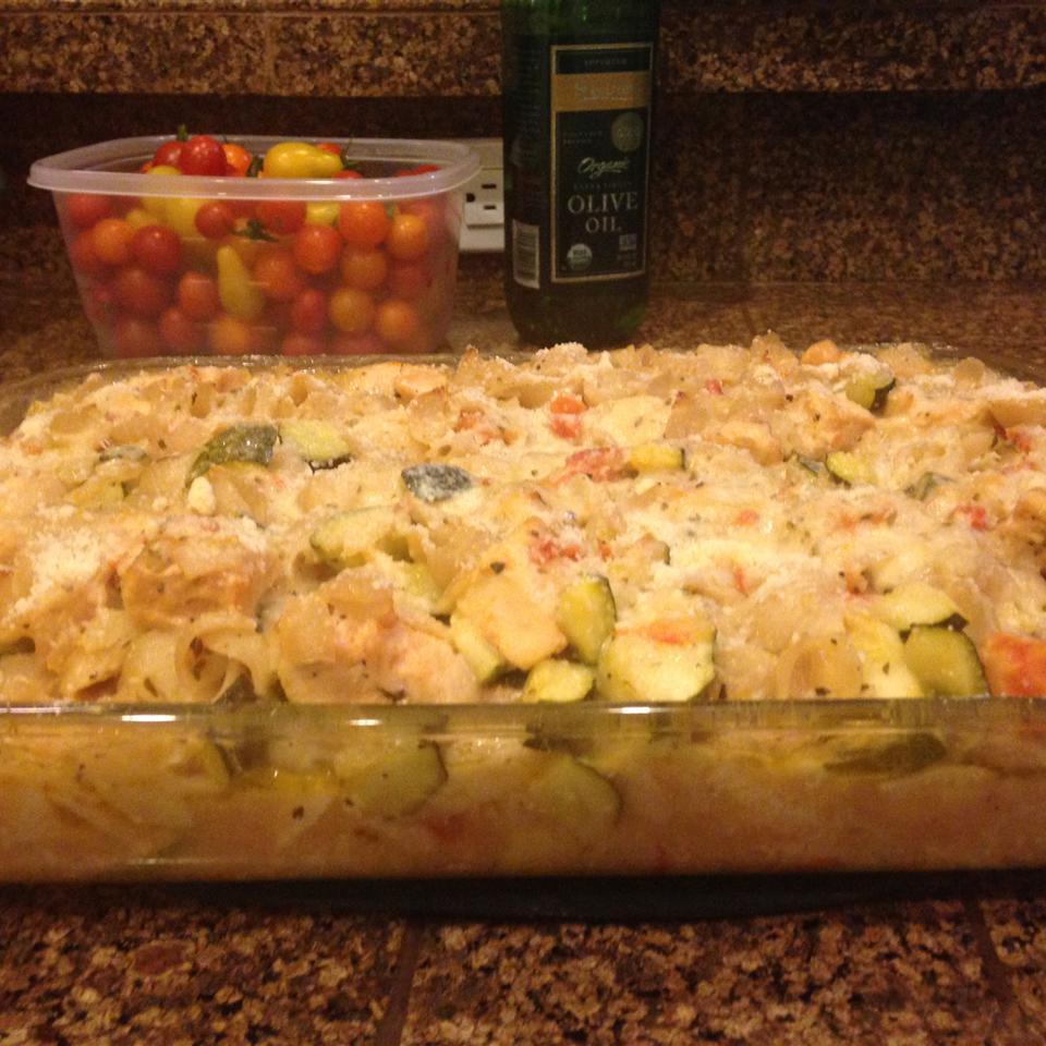 Zucchini Pasta Bake Anastasia Hedrick