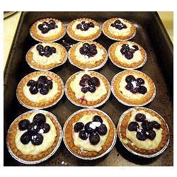 Mango Cheese Tart with Blueberries Gwynne Kloch