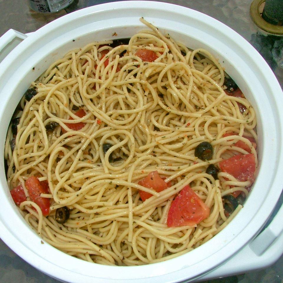 Make-Ahead Spaghetti Salad image