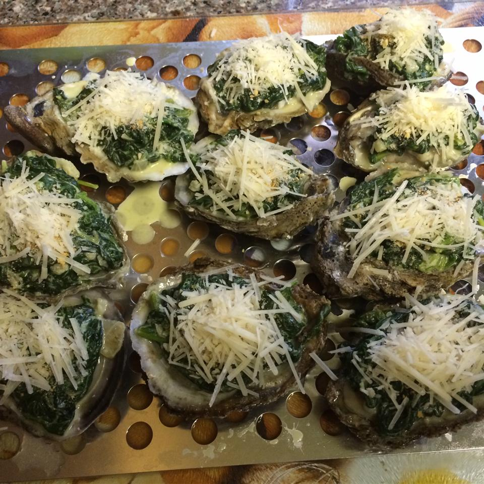 Oysters Rockefeller from USA Weekend