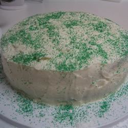 Eggnog Layer Cake pinksnowflakeliz