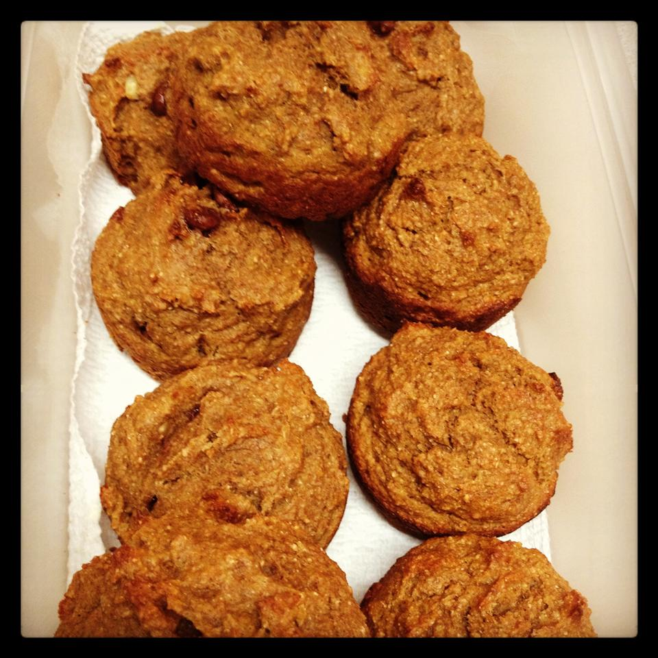 Whole Wheat Pumpkin-Applesauce Muffins Lavenia Rareba Gillespie