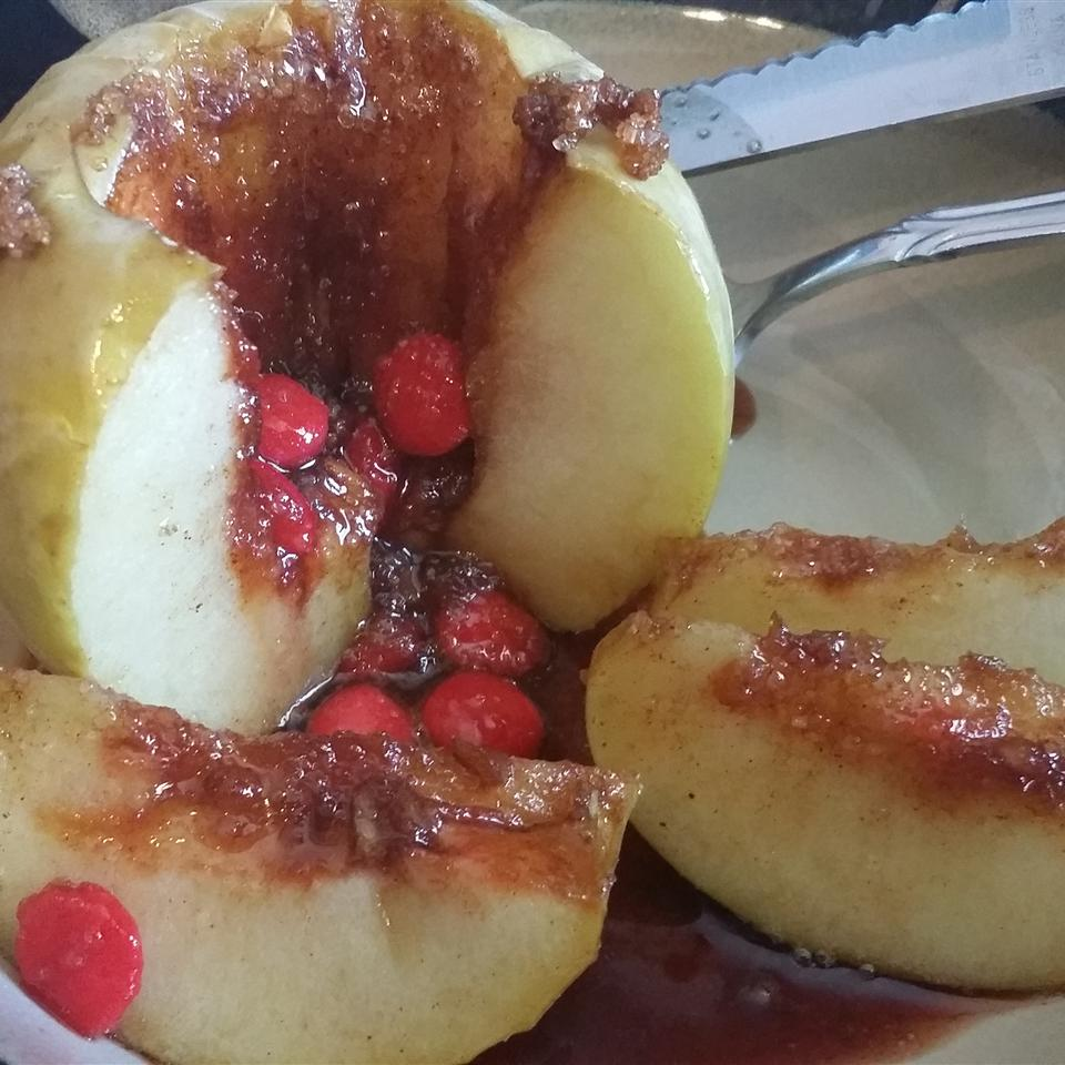 Red Hot Baked Apples