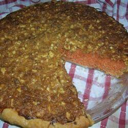 Carrot Pecan Crunch Pie