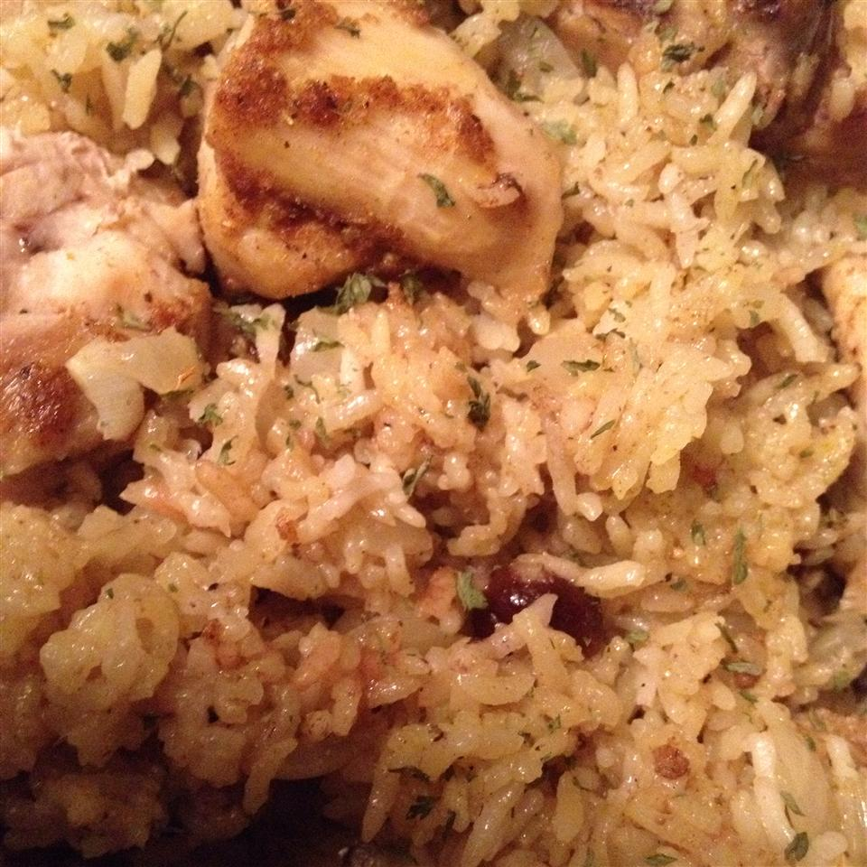 Bombay Chicken and Rice Gracie
