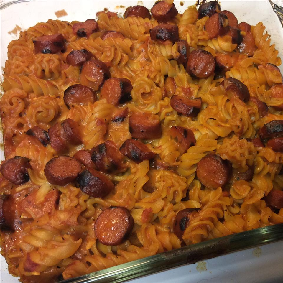 Momma's Hot Dog Casserole Andrea DeBeaux