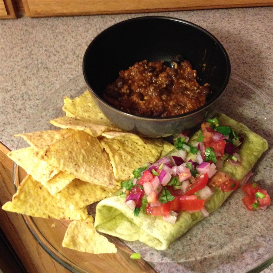 Quinoa Black Bean Tacos (Vegan) krame
