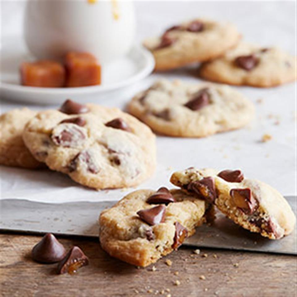 NESTLE® TOLL HOUSE® Caramel Filled DelightFulls™ Chocolate Chip Cookies Trusted Brands