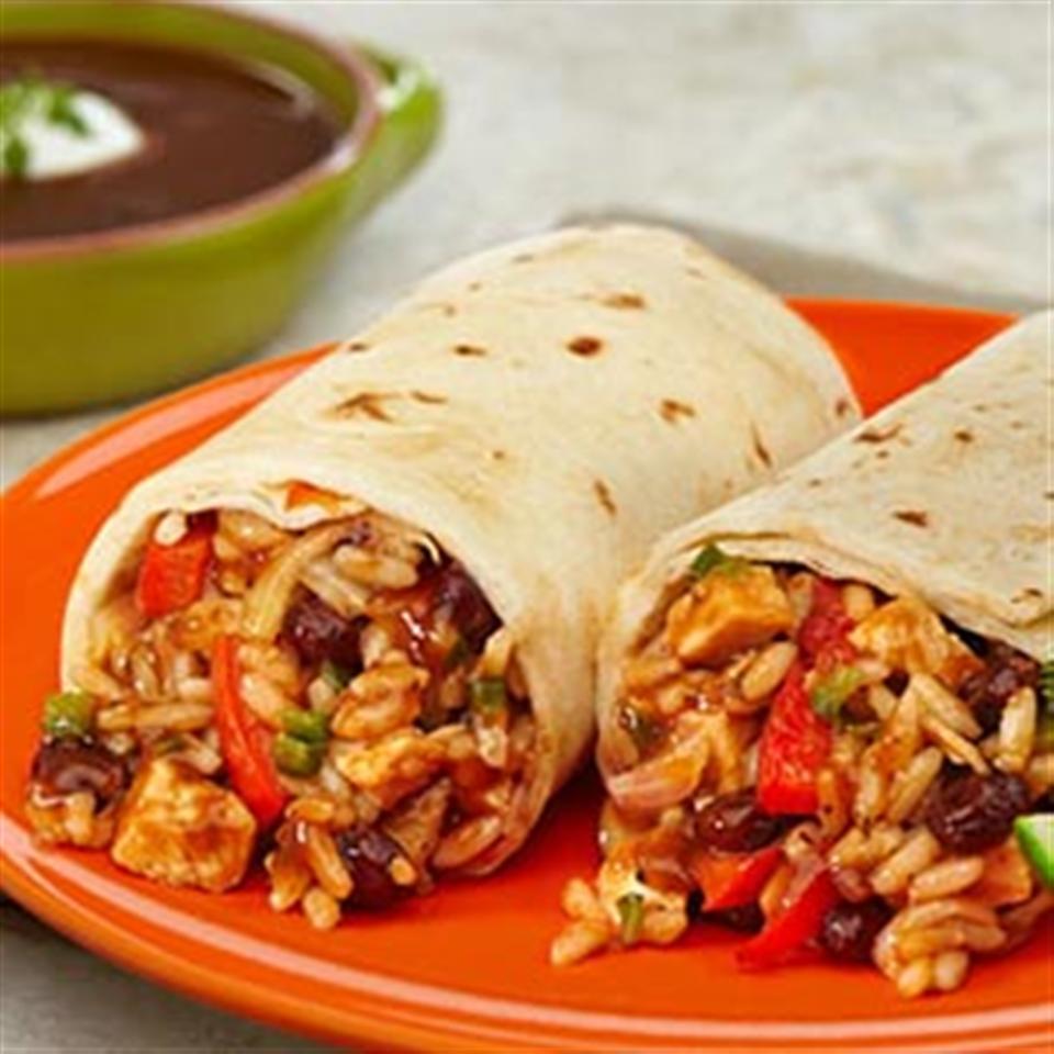 Chicken & Black Bean Burritos Trusted Brands