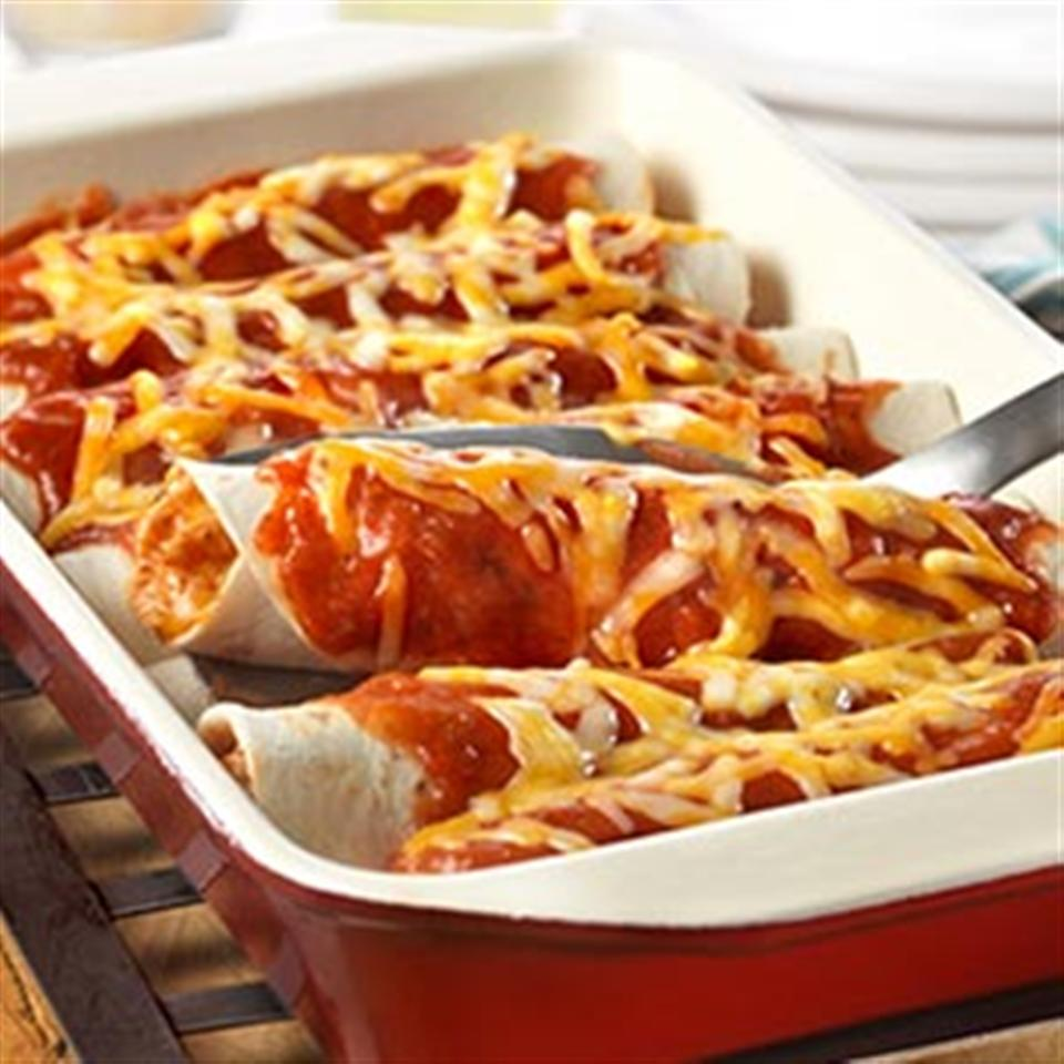 Easy Chicken Enchiladas from Campbell's Kitchen Trusted Brands