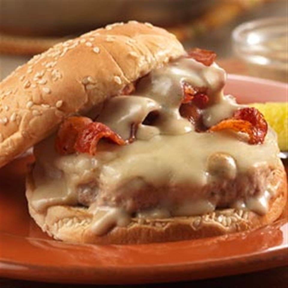 Herb & Garlic Turkey Burgers