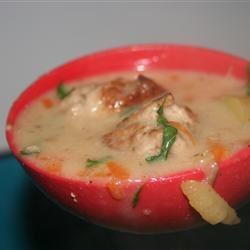 Hearty Meatball Soup I