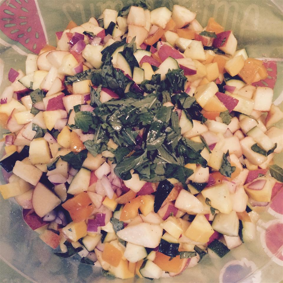 Apple and Zucchini Salad