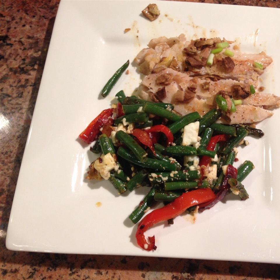 Arica's Green Beans and Feta LauriSuchey