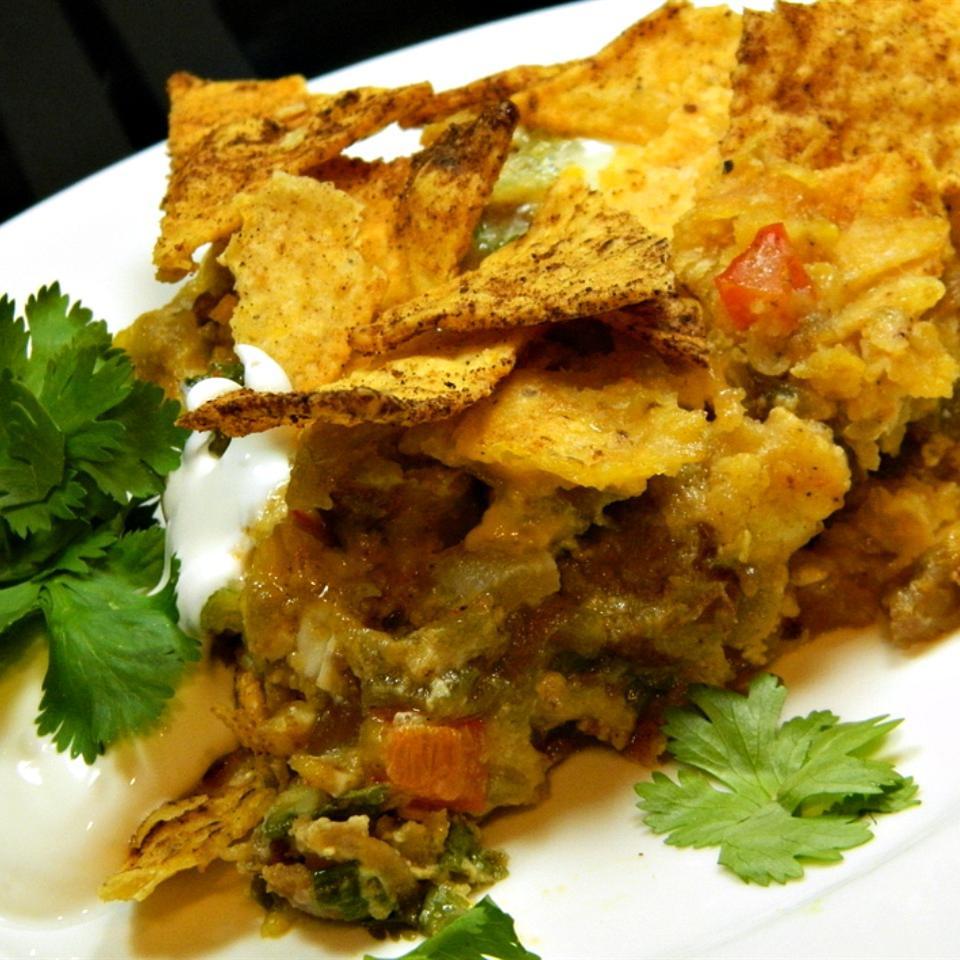 Mexican Tortilla Breakfast Casserole Marianne