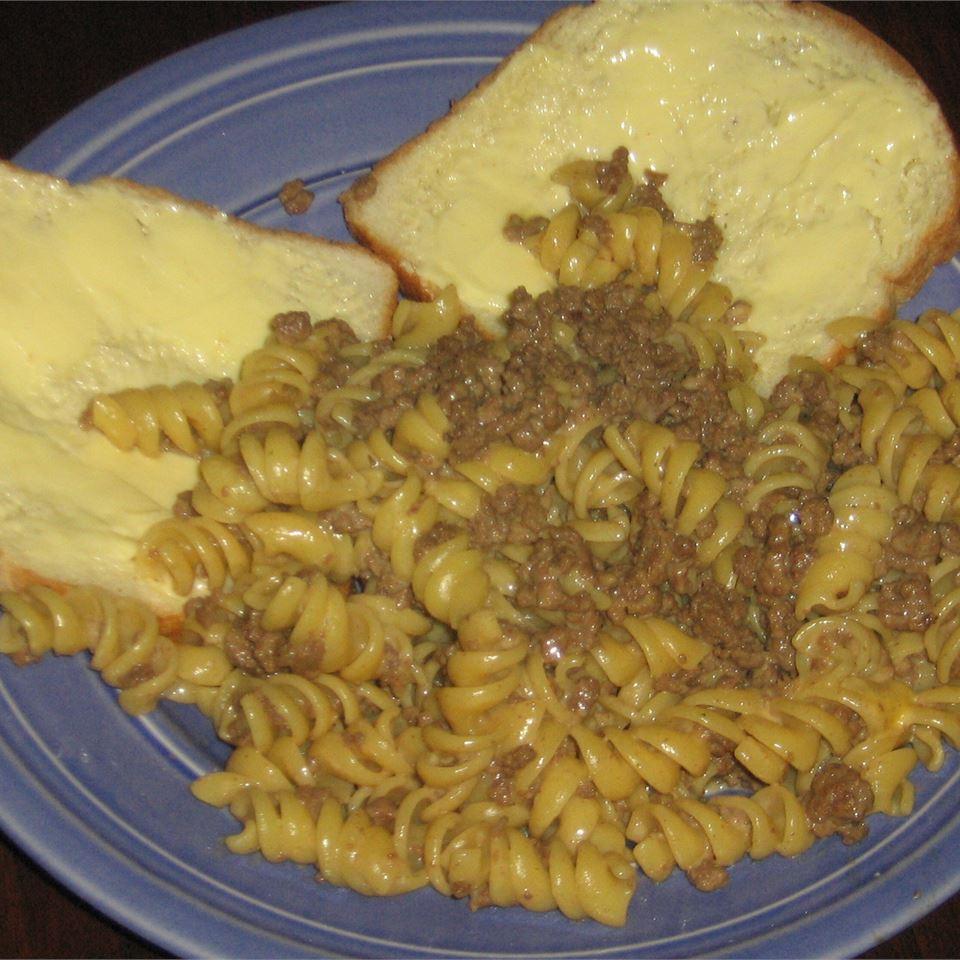 Beefy Cheesy Pasta Angela