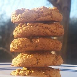 Molasses Peanut Butter Crinkles pomplemousse
