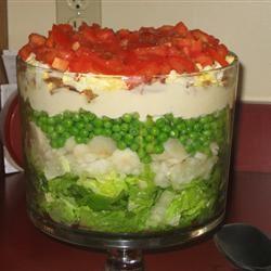 Layered Salad Deb