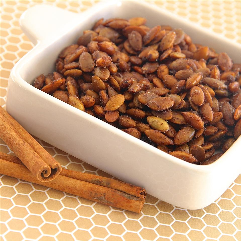 Cinnamon Toast Pumpkin Seeds