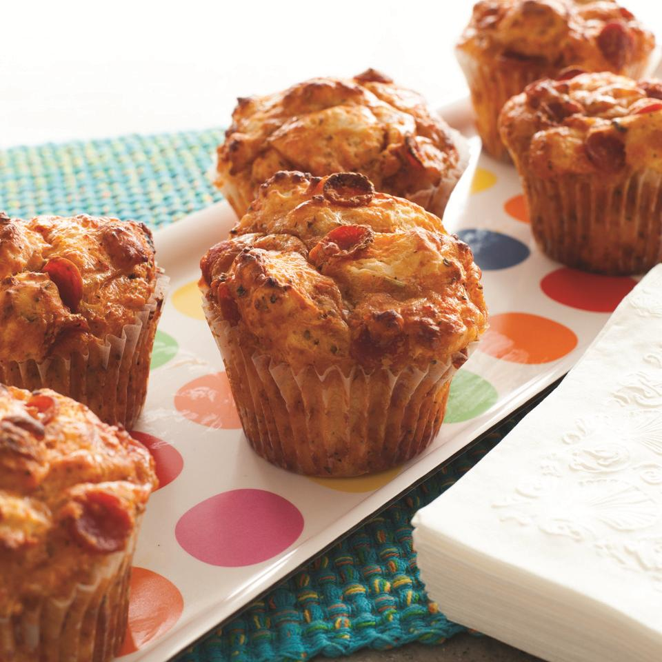 Yummy Pizza Cupcakes