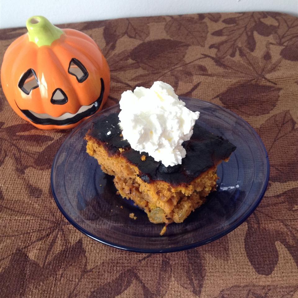 Iced Pumpkin Spice Cake BigShotsMom