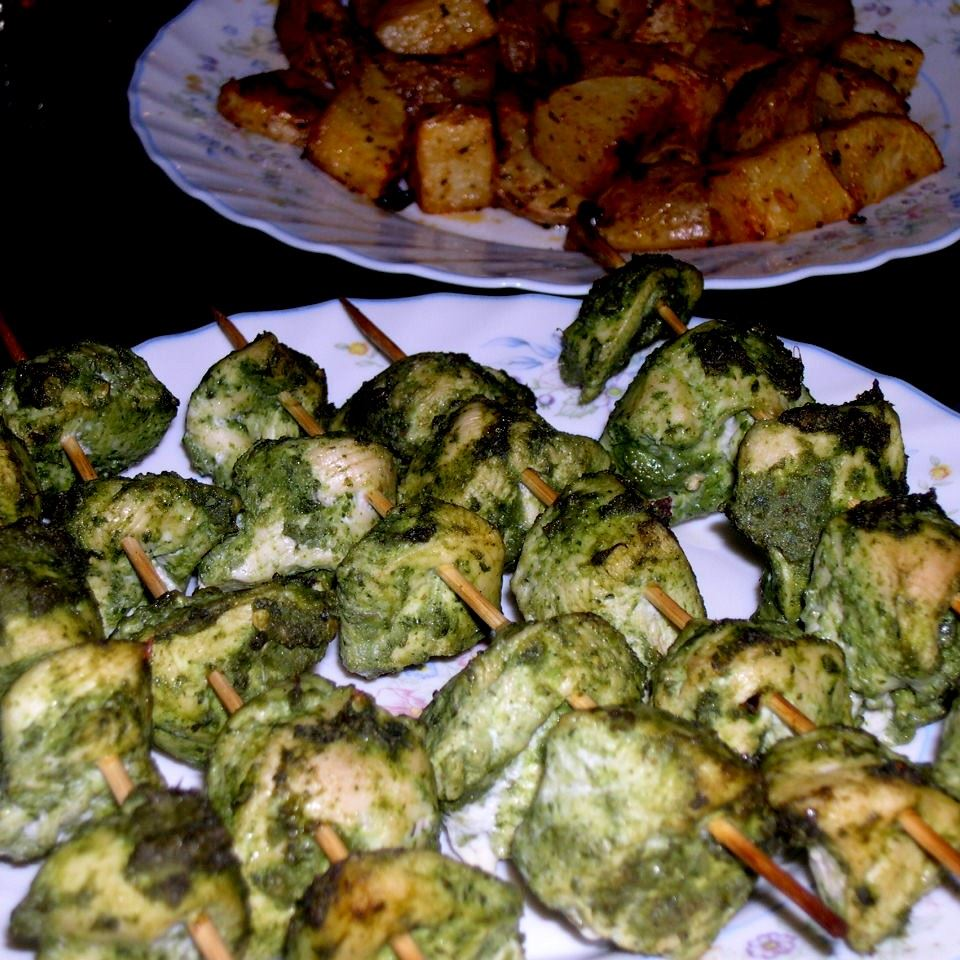 Chicken Hariyali Tikka Hena