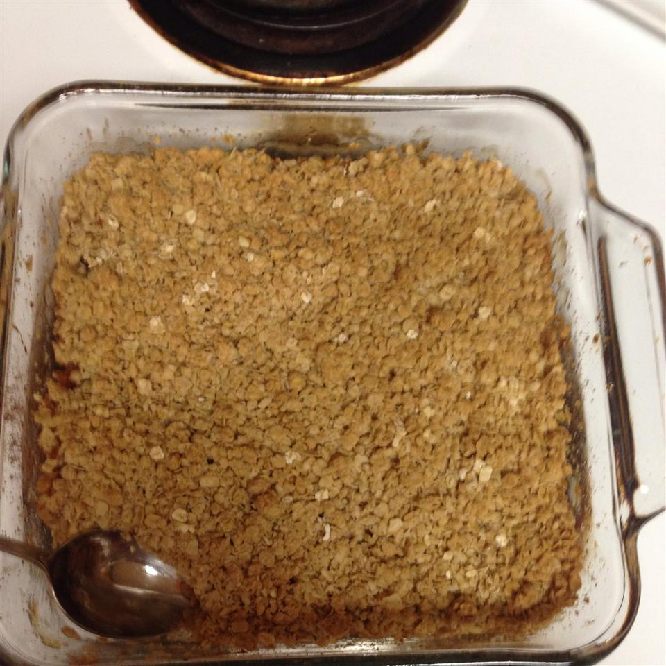 Apple and Pear Crumble steff t
