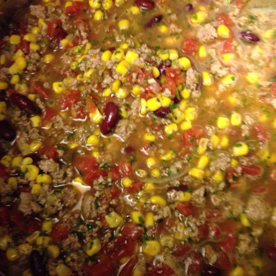 Turkey Taco Soup TheSmithGirlsMom