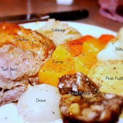 Newfoundland Jigg's Dinner MACTOO