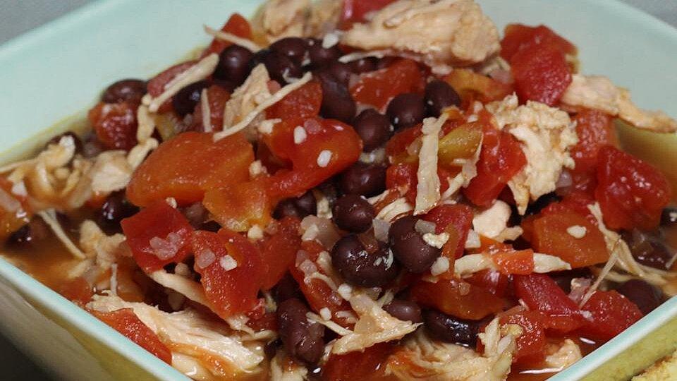 Easy Southwestern Chicken Soup