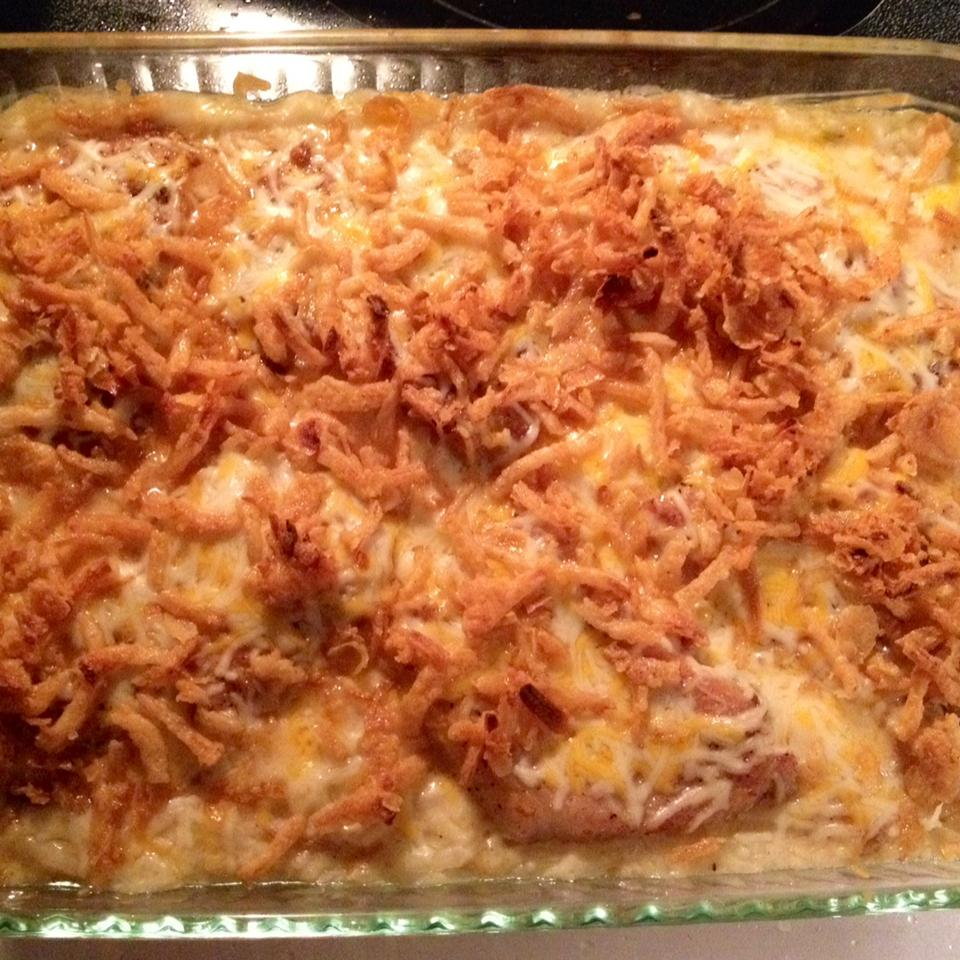 Pork Chop Potato Casserole Kim Maass