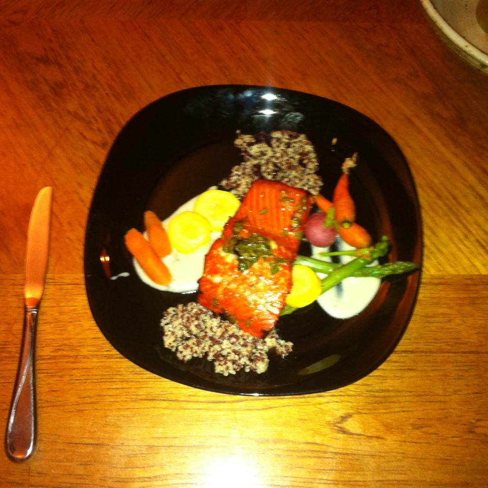 Anne's Fabulous Grilled Salmon Chris Millman