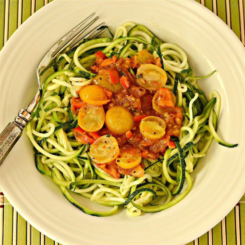 Sayguh's Spicy Olive Oil, Tomato and Lime Pasta Sauce
